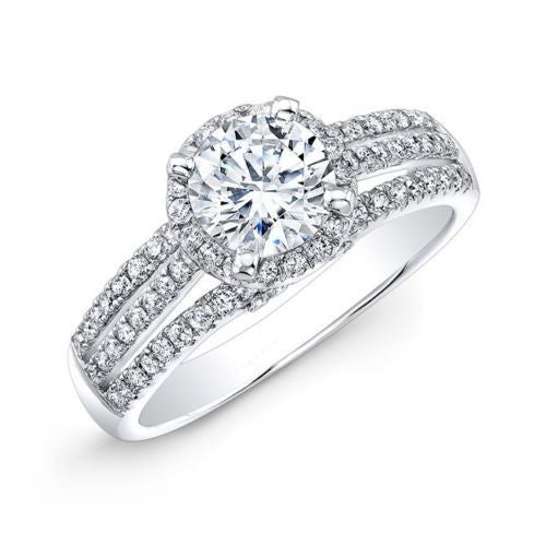Jewels By Royal - Round Cut Diamond Engagement Ring