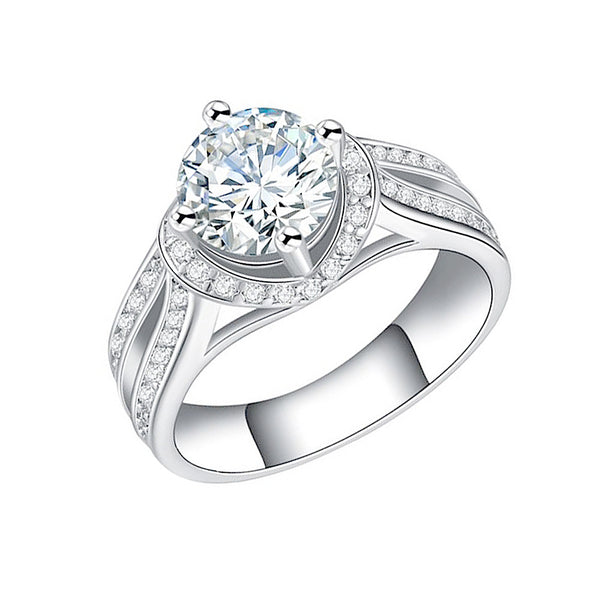 Jewels By Royal - Round Cut Engagement Ring (RDBS05015112310)