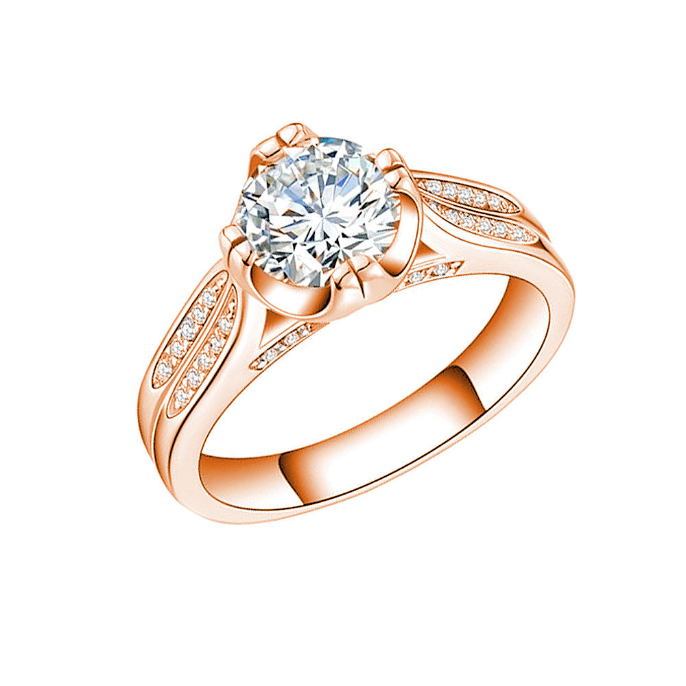 Jewels By Royal - Round Cut Diamond Engagement Ring (RDBS05015112304)