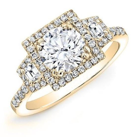 Jewels By Royal - Round Cut Diamond Engagement Ring (RDENG05015102008)