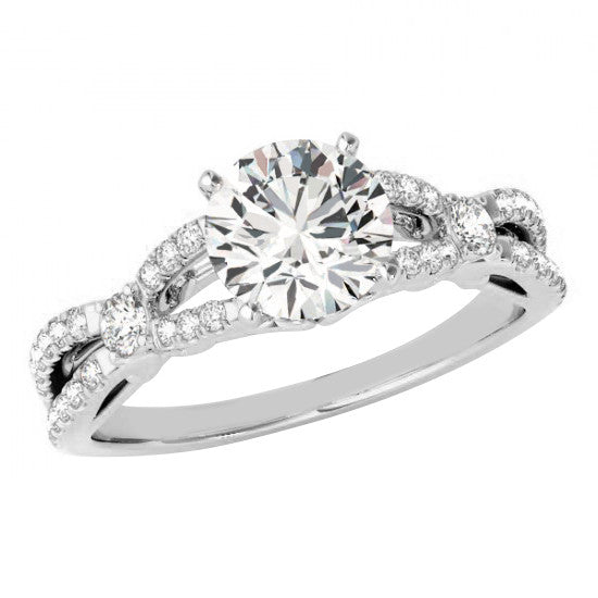 Jewels By Royal - GIA Certified Round Cut Engagement Ring (RDSPSHPV)