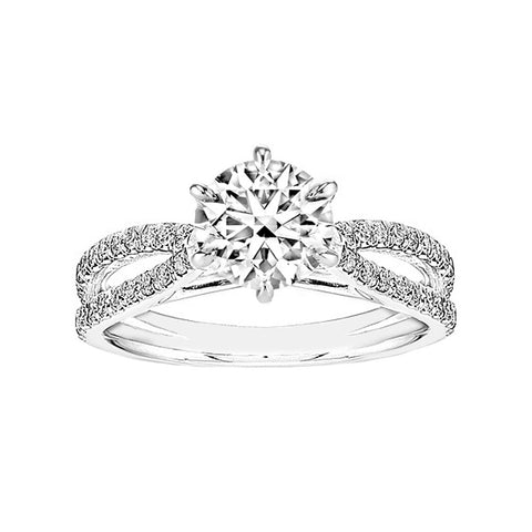 Jewels By Royal - Round Cut Diamond Engagement Ring (RDSS050GH)