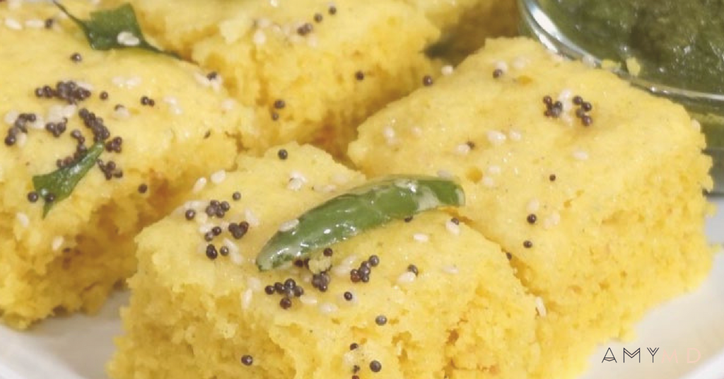 RECIPE: Quick & Easy Gluten Free Almond Meal Dhokla