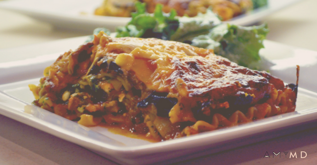 RECIPE: Spicy Eggplant Lasagne