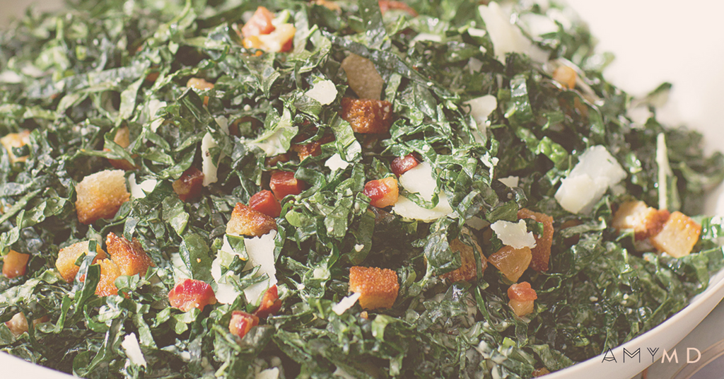 RECIPE: Kale Salad with Creamy Cashew Dressing