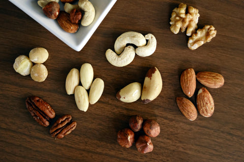 Nuts, seeds, quiona, beans, milk and tofu are packed with protein