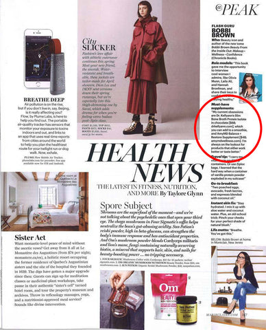 Balance and Restore in Marie Claire