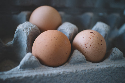 Cut back on eggs and meat-based products one at a time