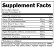 AmyMD - Supplement Facts