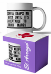El Arroyo Coffee Mug 16oz - Keeps Me Busy