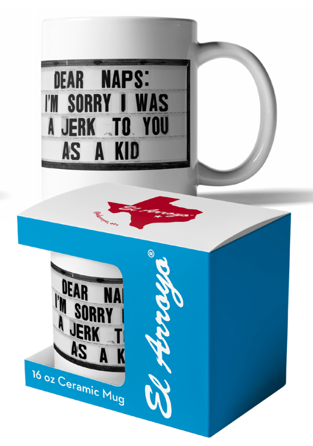 El Arroyo Coffee Mug 16oz - Dear Naps