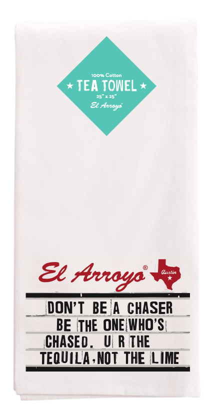 El Arroyo Tea Towel - Chaser