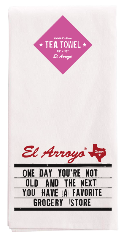 El Arroyo Tea Towel - Grocery Store
