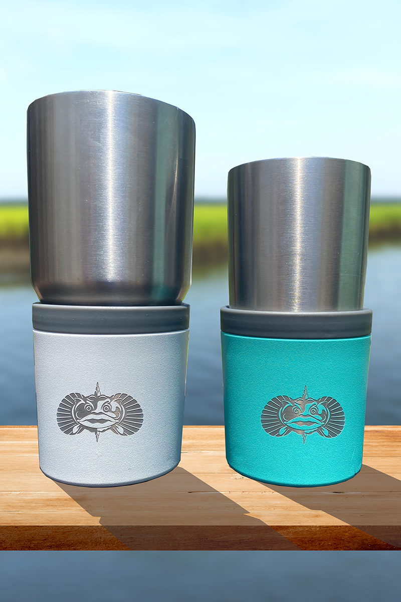 Toadfish Universal Non Tipping Cup Holder
