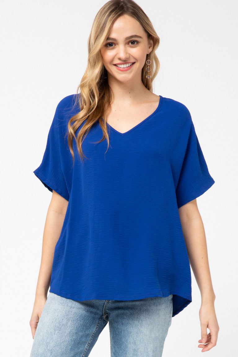 Mia Top Royal Blue