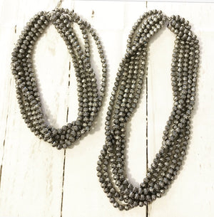 Five-Strand Western Pearl Necklace