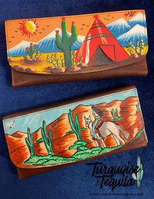 Painted Wallets