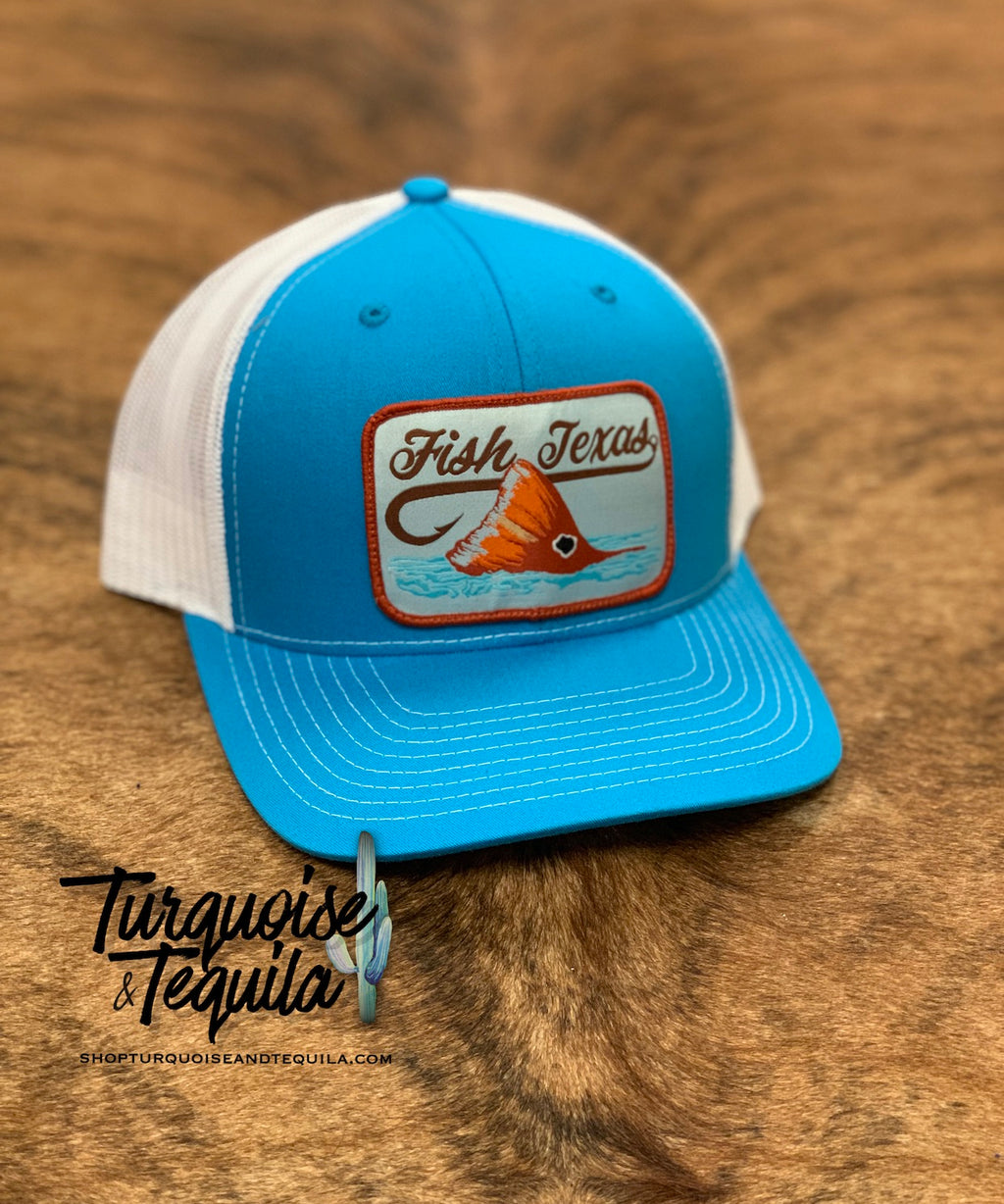 Fish Texas Cap