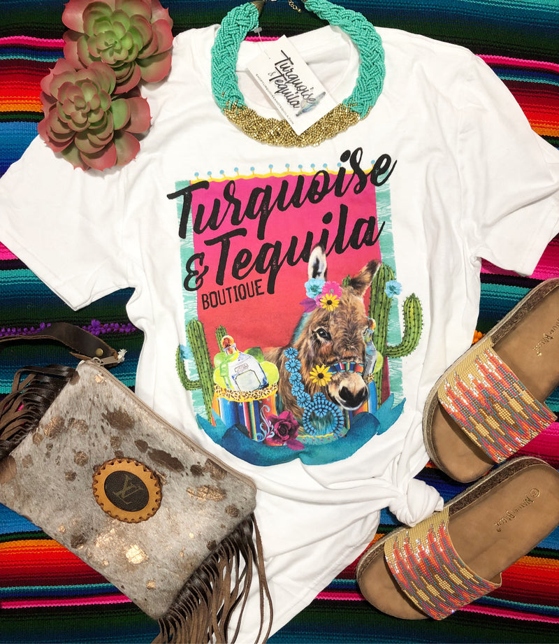 Turquoise & Tequila Boutique Tee