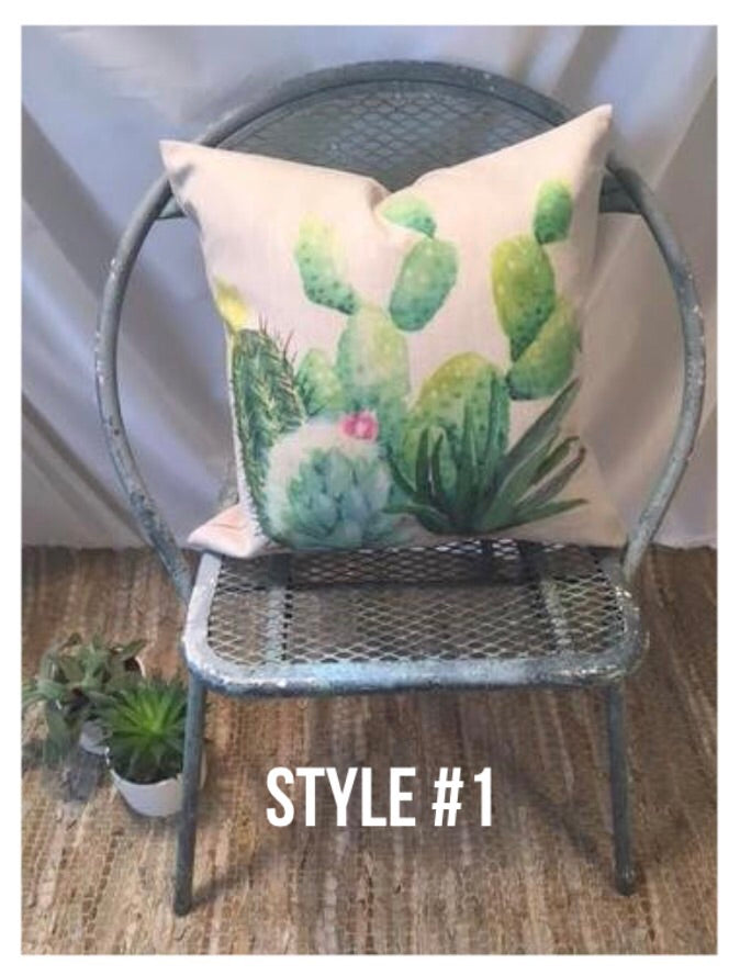 Cactus Pillow Covers