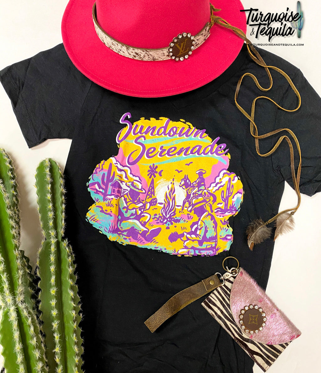 Sundown Serenade Tee
