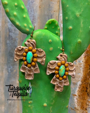 Thunderbird Clay Earrings