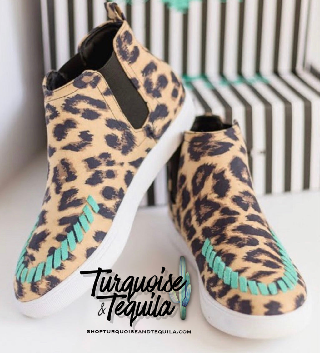Leopard Stitch Kicks