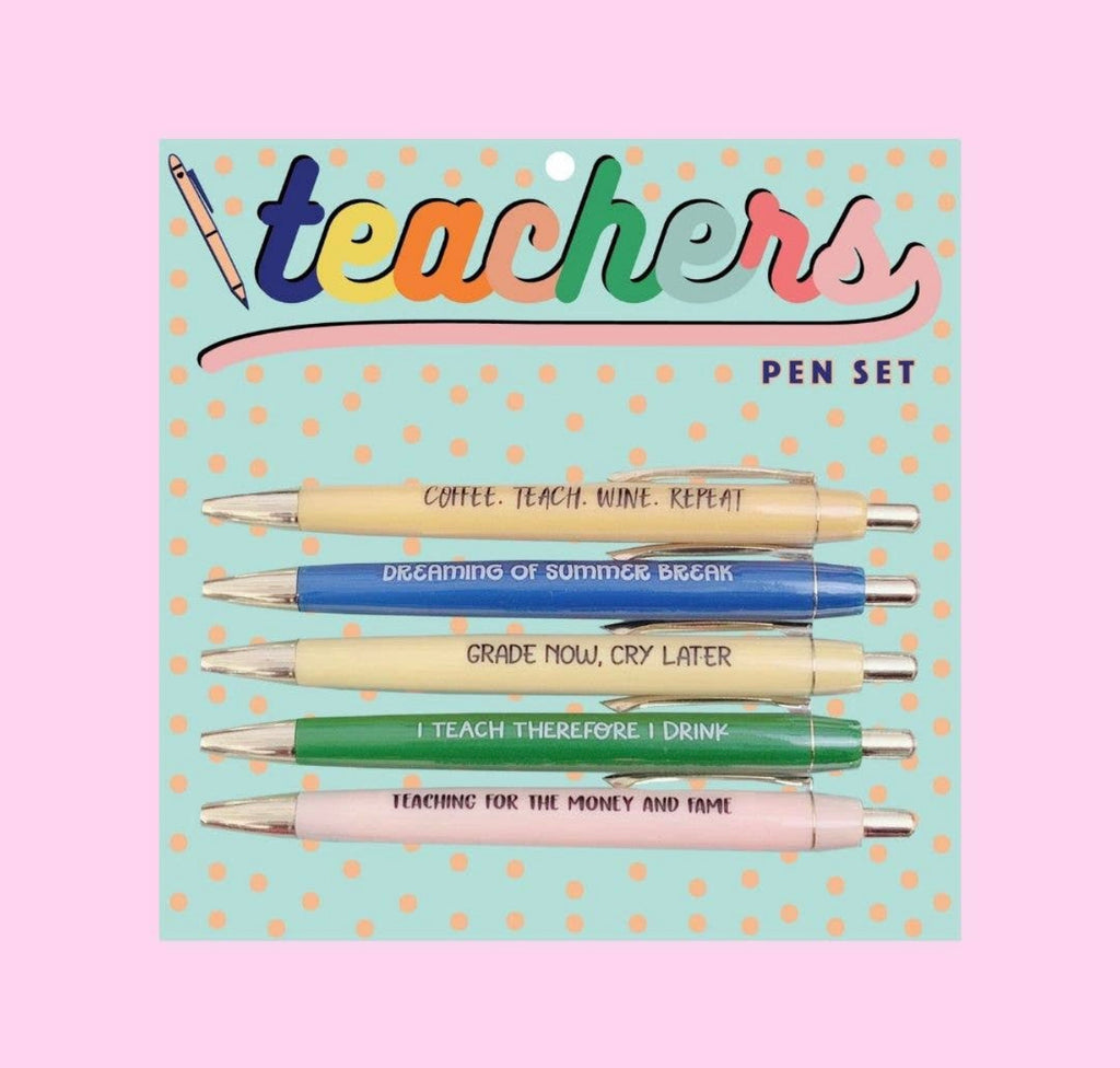 Teacher Pen Set