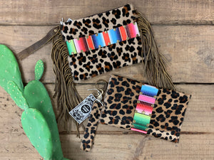 Leopard and Serape Wristlets