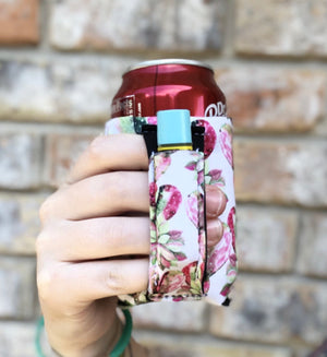 Regular Can Can Cooler- Pink Cactus