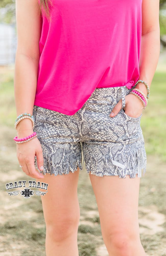 Sly Fringe Shorts