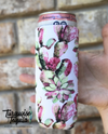 Slim Fit Can Cooler - Pink Cactus