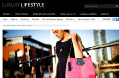 DBR Bags luxury mag