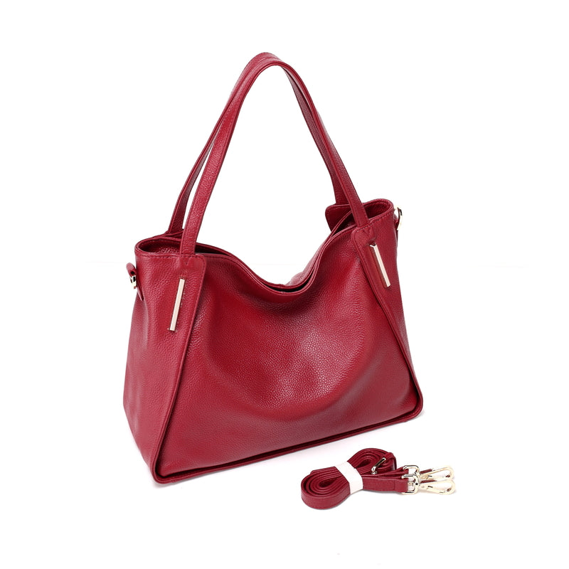 DBR Ingrid leather handbag