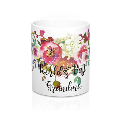 World's Best Grandma Coffee Mugs Ceramic 11 oz, 15 oz