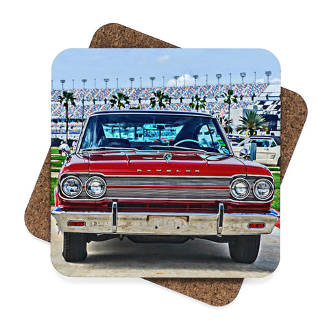 Rambler Square Hardboard Coaster Set - 4pcs