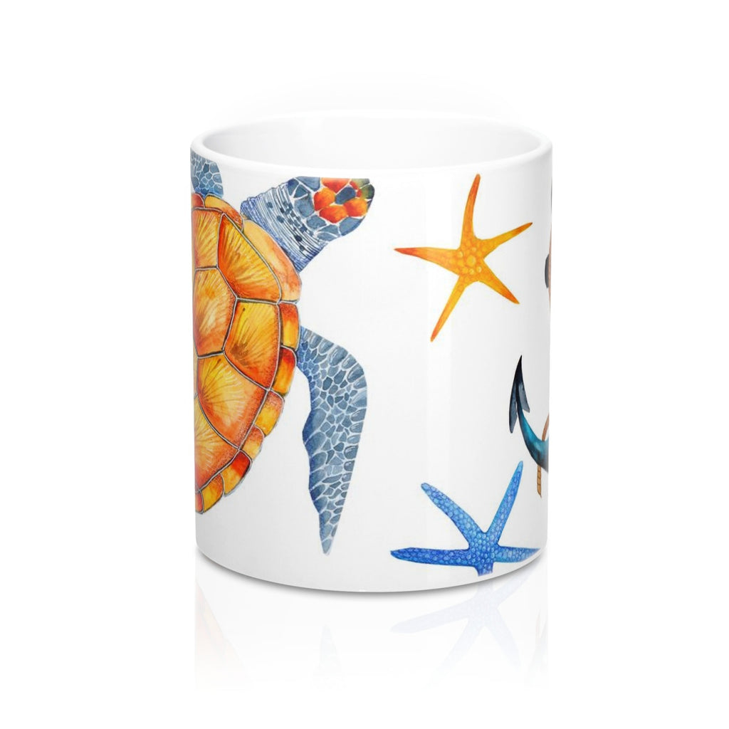 Sea Turtle Tropical Mug 11oz