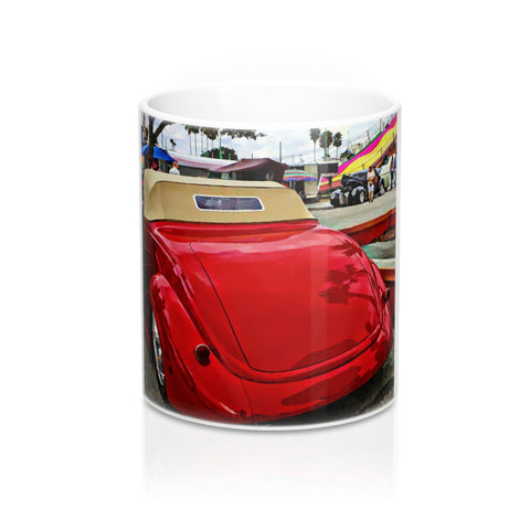 1937 Ford Hotrod Custom Car Mug 11oz