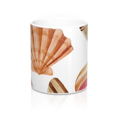 Beach Seashells Mug 11oz