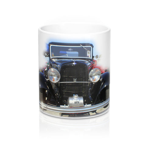 1932 Ford  Classic Car Coffee Mug, Ceramic Coffee Mug, Coffee Mug for Guys, Hot Rod Coffee Mug