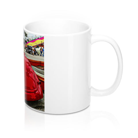 1937 Ford Hot rod Custom Car Mug 11oz, Ceramic Coffee Mug, Coffee Mug for Guys, Hotrod Coffee Mug