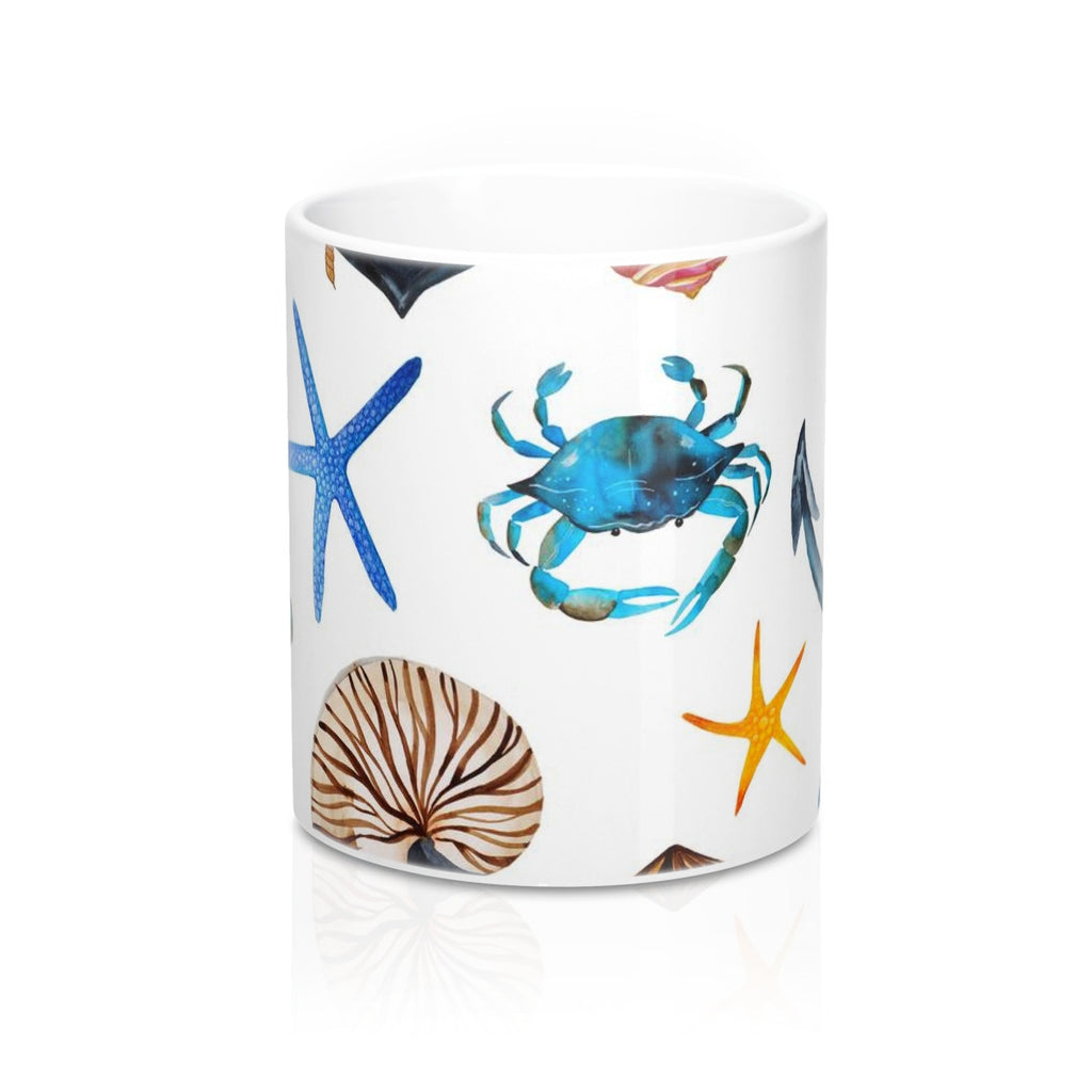 Summer Beach Tropical Mug 11oz