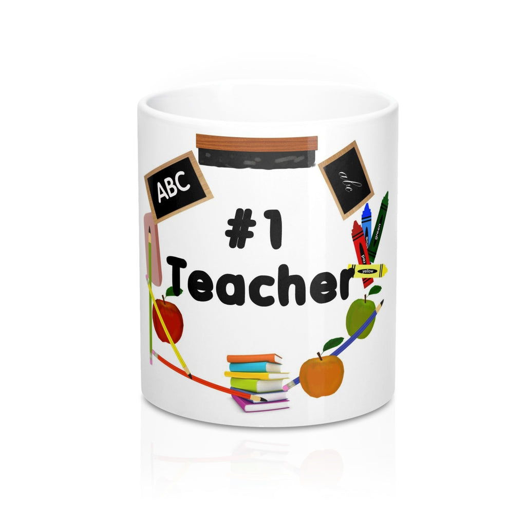 No. 1 Teacher Mug 11oz