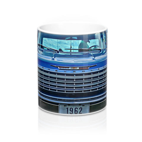 1962 Chevy Impala Hotrod Mug 11oz, Coffee Mug for Guys, Hotrod Coffee Mug