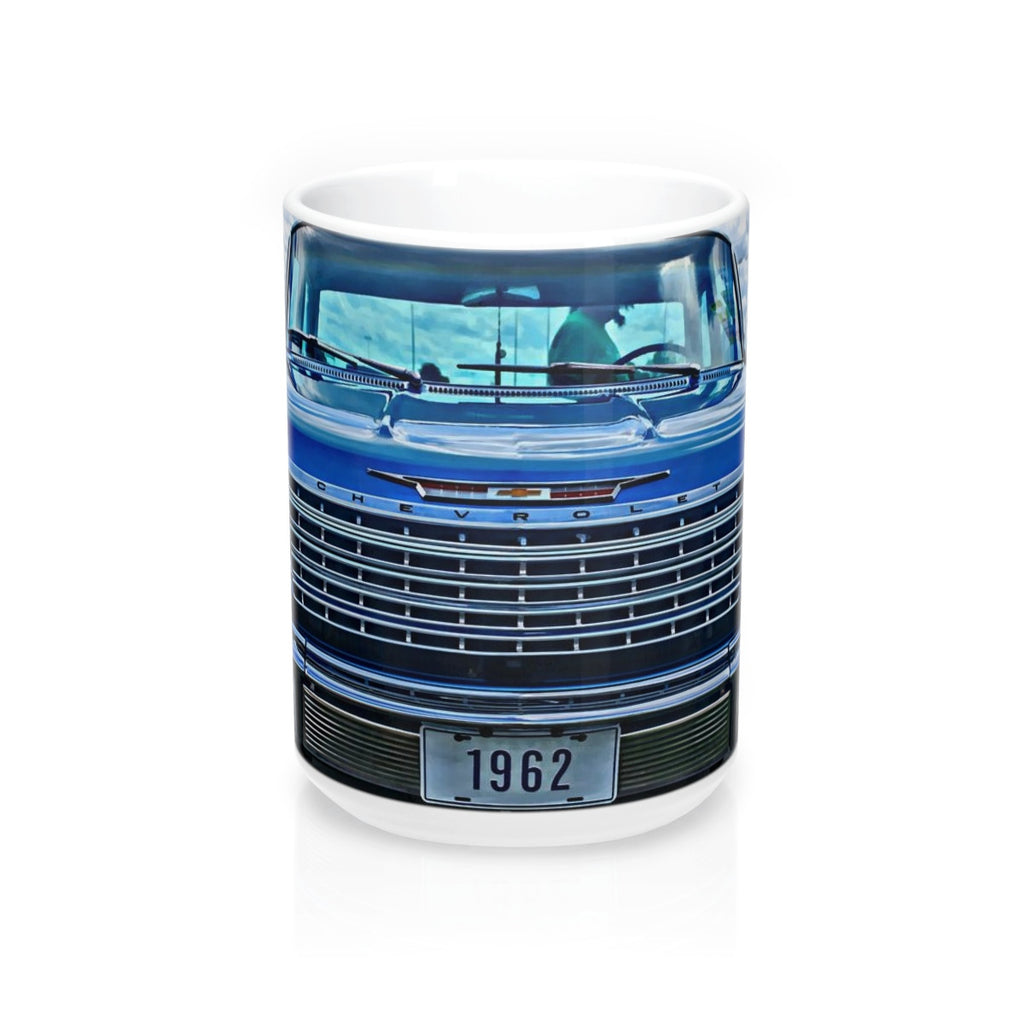 1962 Chevy Impala Hotrod Coffee Mug 15oz, Hotrod Coffee Mug, Coffee Mug for Guys