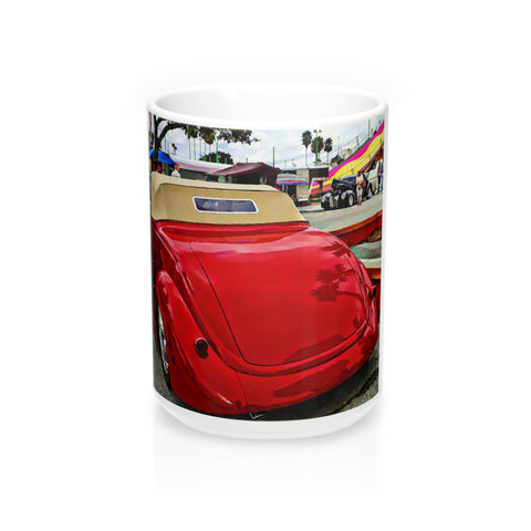 1937 Ford Hotrod Classic Car Coffee Mug 15oz