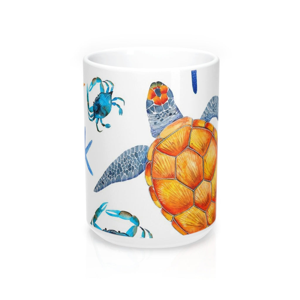 Sea Turtle Tropical Mug 15oz