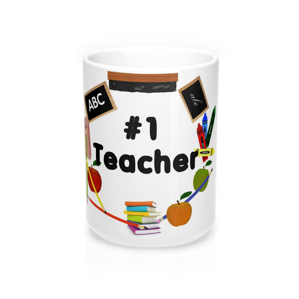 No 1 Teacher Mug 15oz