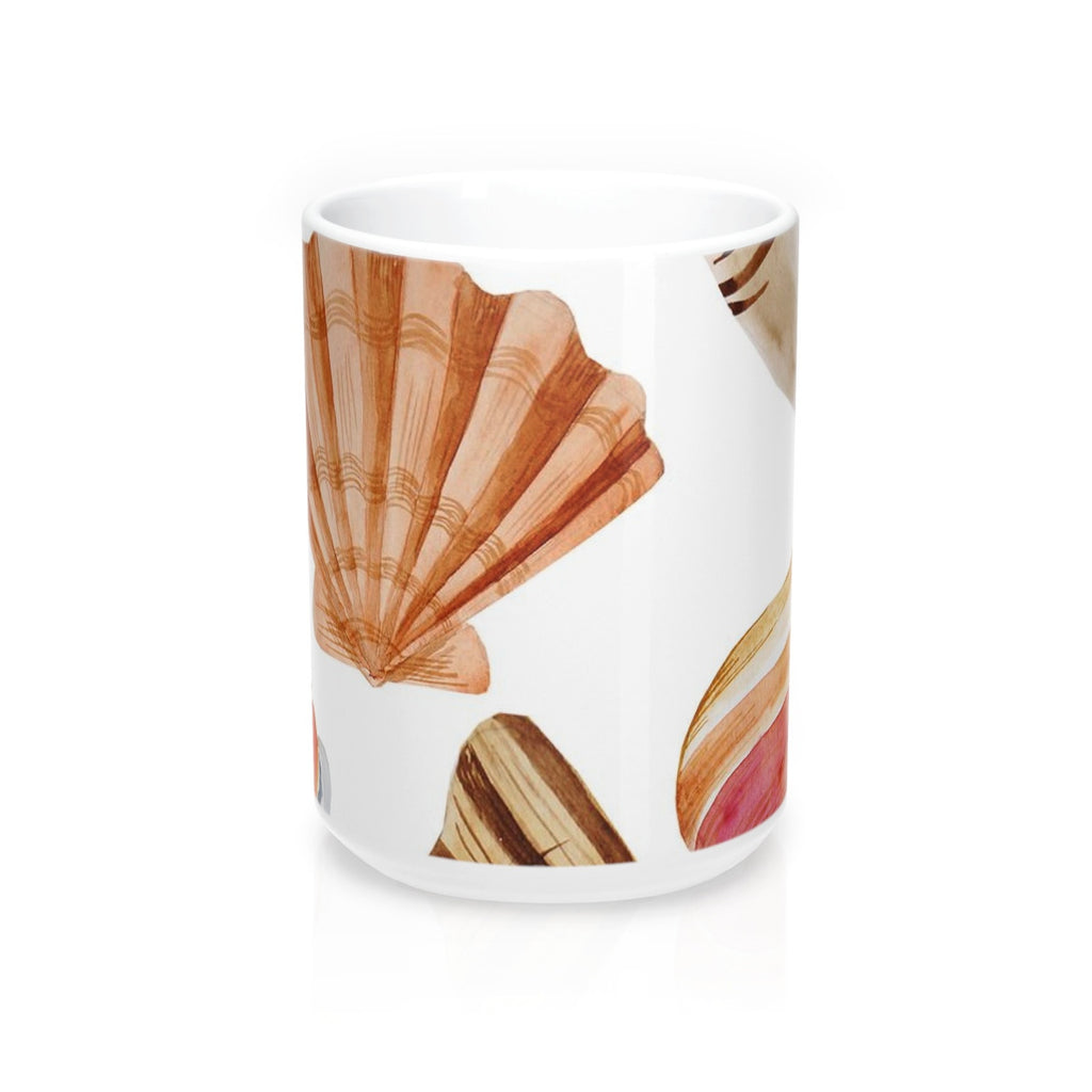 Beach Seashells Mug 15oz
