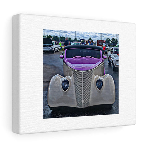 1937 Ford Custom Car Hotrod Canvas Gallery Wraps